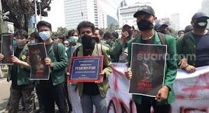6 Tahun Berkuasa, Ini Foto Piagam Kegagalan untuk Jokowi