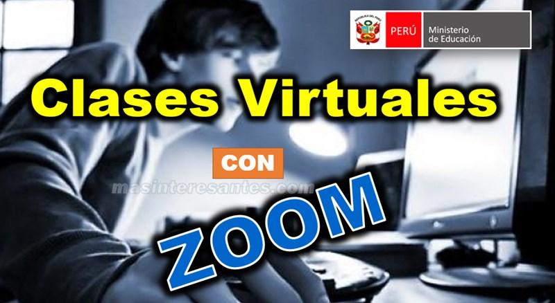 clases virtuales con Zoom