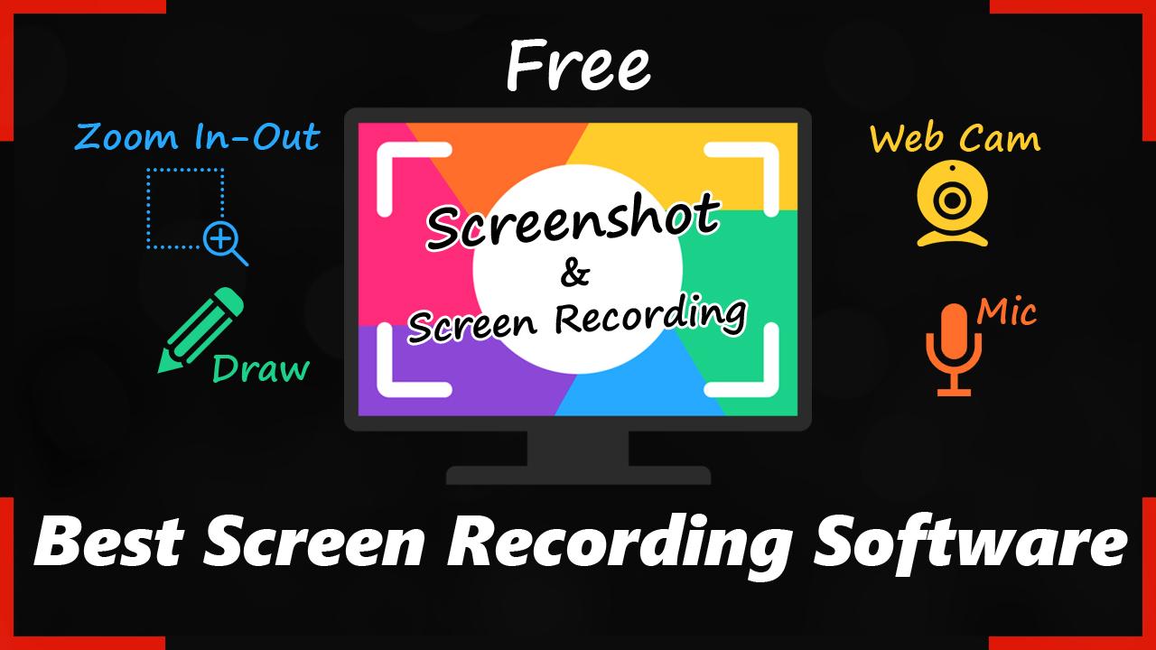 Best Screen Recording Software For windows & Mac !! - Web
