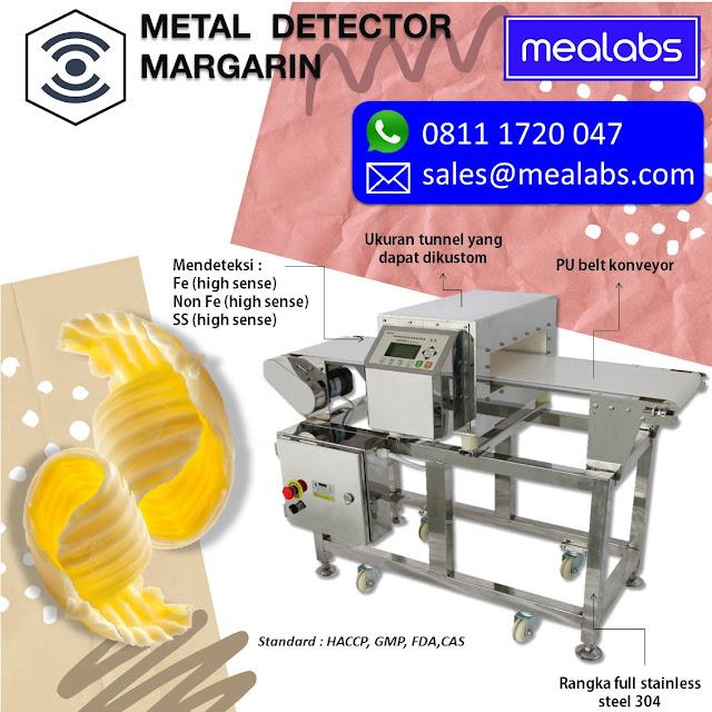 metal detector margarin