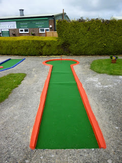 Mini Golf course at Tea Green Golf Club at Wandon End, Luton