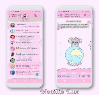 Koelyn Australia Theme For YOWhatsApp & Fouad WhatsApp By Leidiane