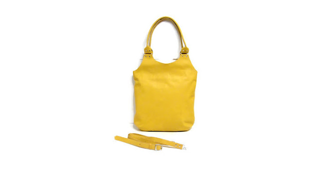 Сумка желтый цвет: длинный съемный ремень и короткие ручки. Размеры 37 х 44 см. Доставка почтой или курьером
