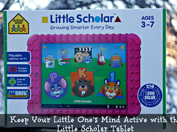 Keep Your Little One's Mind Active with the Little Scholar Tablet