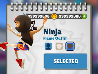Subway surfers coins and keys