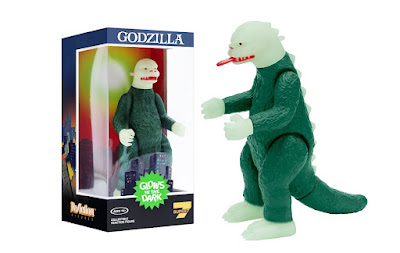 New York Comic Con 2021 Exclusive Shogun Godzilla Glow in the Dark Edition ReAction Figure by Super7