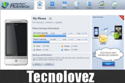 MobileGO - Alternativa a HiSuite Per Gestire Il Tuo Smartphone Huawei Su PC Windows e Mac