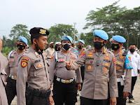 Kunjungi Polres Lamsel, Kabid Propam Polda Lampung M. Syarhan Ingatkan Kedisiplinan
