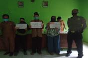 Hindari Kerumunan, Polsek Kragilan Lakukan Pengamanan Pembagian BLT-DD di Desa Sukajadi