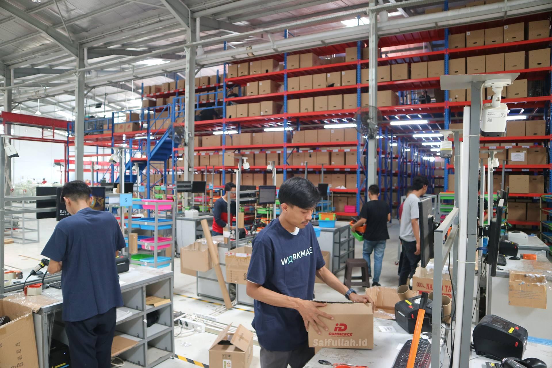 Lowongan Kerja Staff Gudang Toko Bintang Utama Elektronik Pontianak