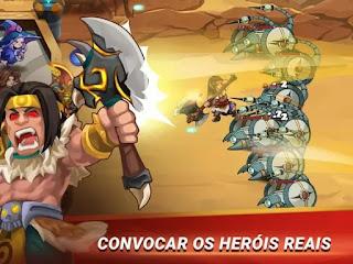 Castle Defender: Hero Idle Defense TD apk mod dinheiro infinito