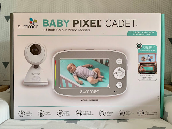 Review: Summer Baby Pixel Cadet Colour Video Monitor (AD - Gifted)