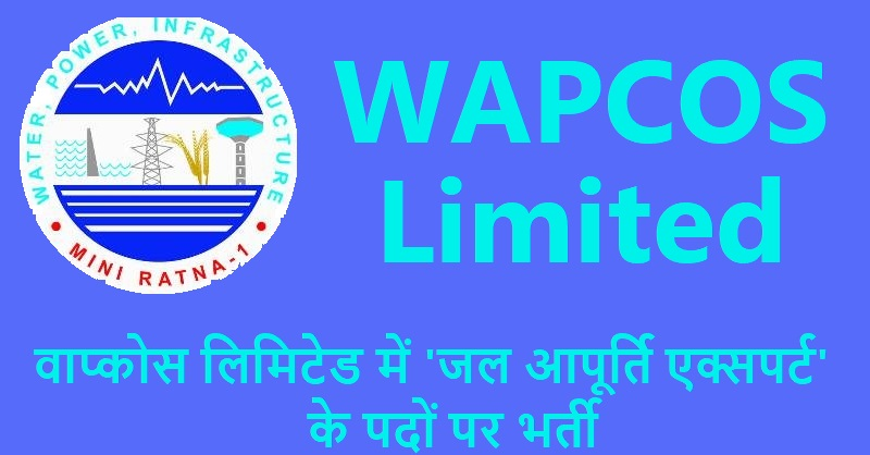 WAPCOS Recruitment 2019