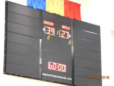 Scor final Craiova  39 - Braila 27