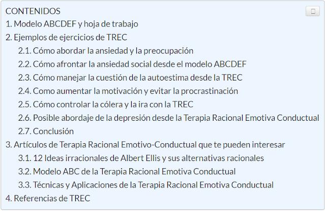 Ejemplos TREC