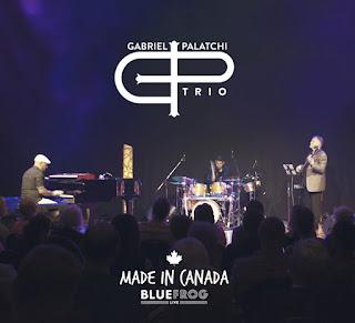 "Gabriel Palatchi Trio: ""Made in Canada"" / stereojazz"