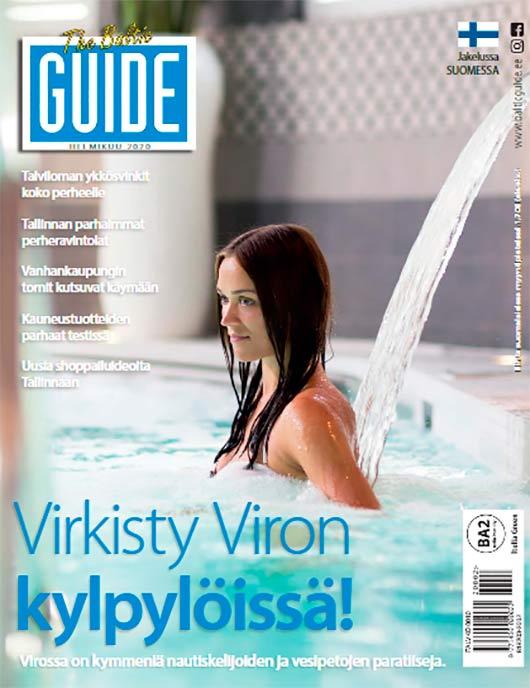Baltic Guide 2020 Helmikuu - lukupaketti Tallinnaan! Tallinna tutuksi!