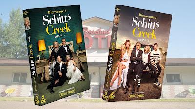 Bienvenue à Schitt's Creek DVD CINEBLOGYWOOD