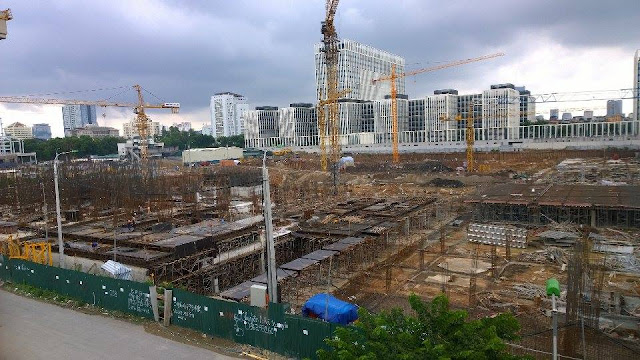 công trường xây dựng an bình city