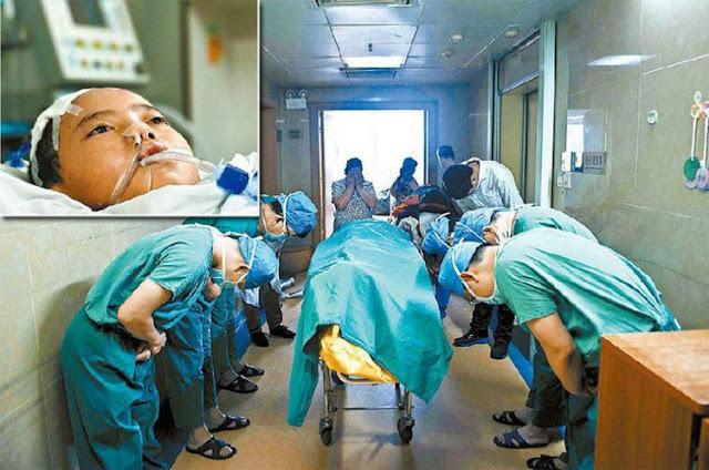 11-летний мальчик Лян Яои, умиравший от рака мозга, попросил свою маму пожертвовать его органы, чтобы спасти жизнь другим детям!!!