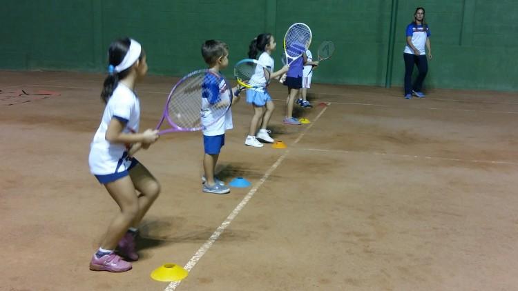 A iniciação no tênis