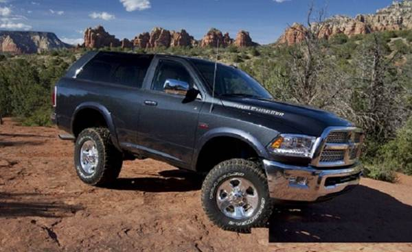 2018 Dodge Ramcharger Concept