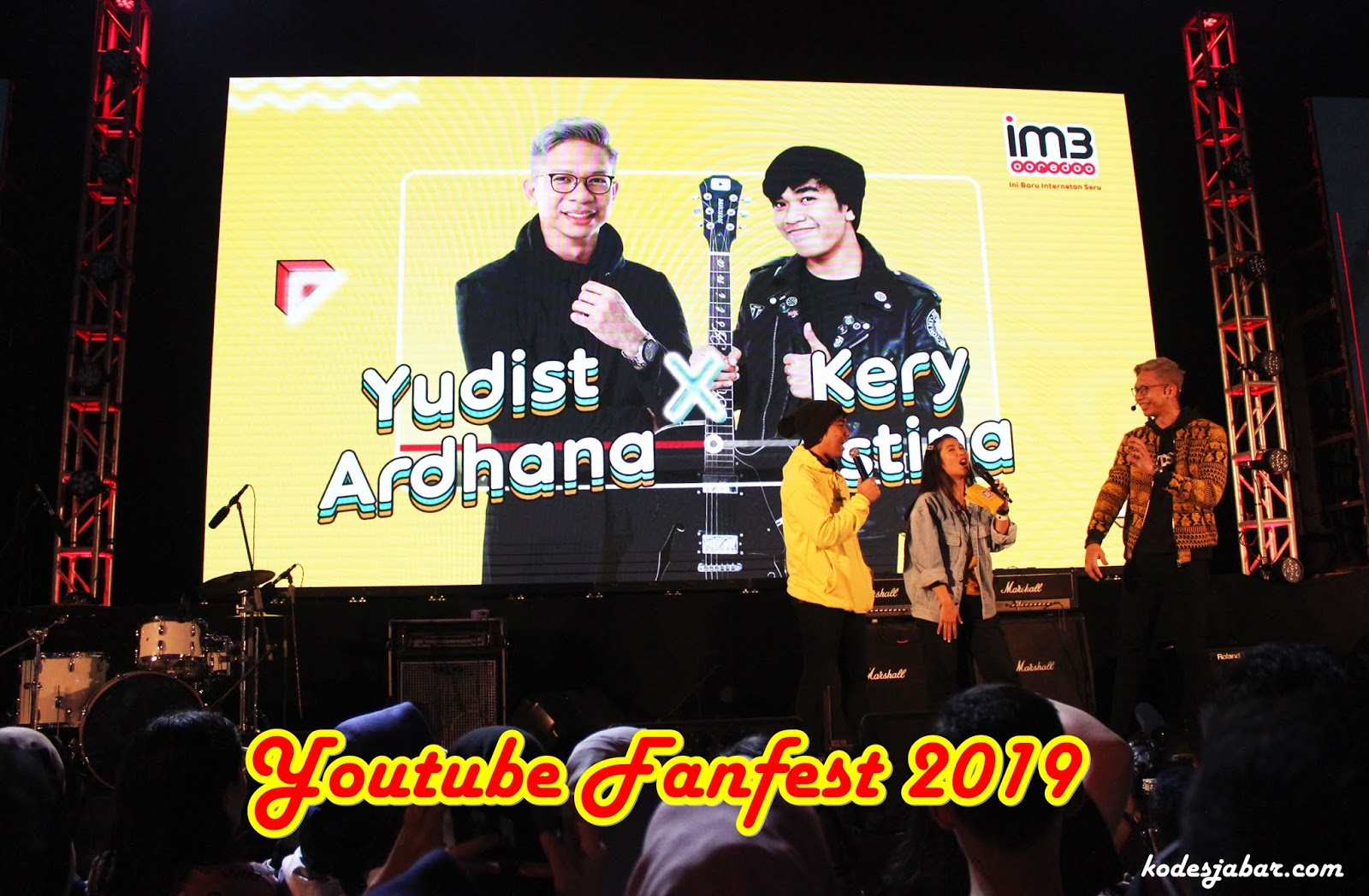 Keseruan Showcase YouTube FanFest 2019 Bersama IM3 Ooredoo di Bandung