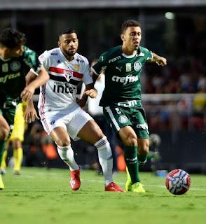 São Paulo e Palmeiras empatam em 0 a 0 - Semifinal - campeonato Paulista