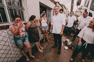 Governador Renan filho, tomará medidas providência em Santana do Ipanema_AL