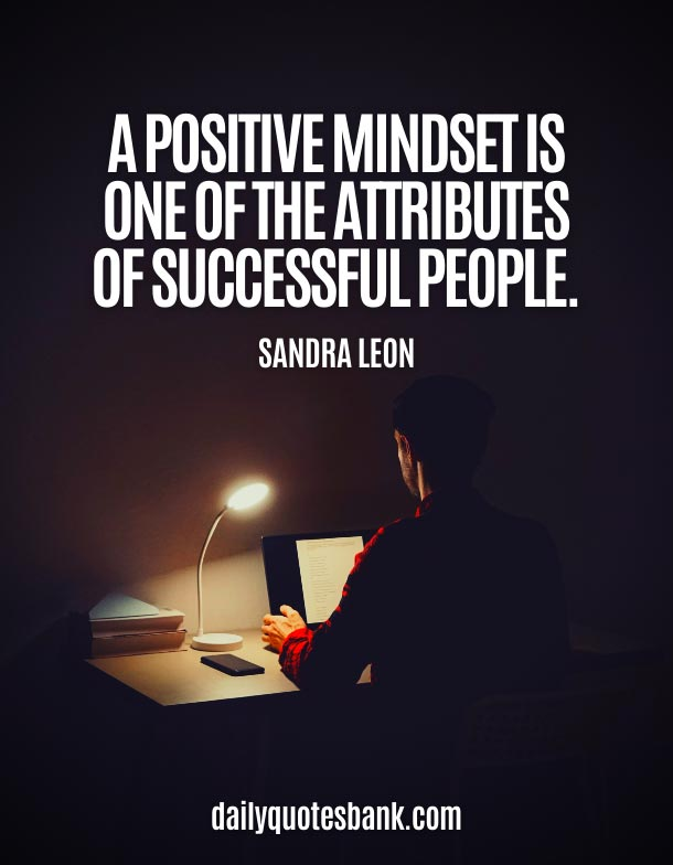 Positive Quotes About Strong Mindset