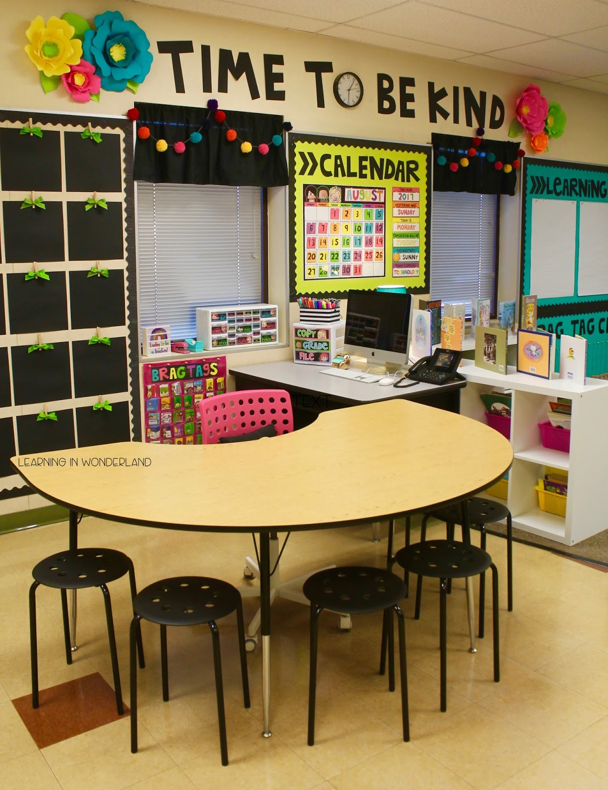 Classroom Tour 2017 2018 Learning In Wonderland