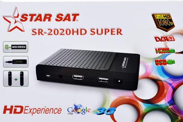 STARSAT SR-2020 HD SUPER ATUALIZAÇÃO V1.92 - V1.93 - 05/09/2016