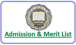 Barabazar College Merit List
