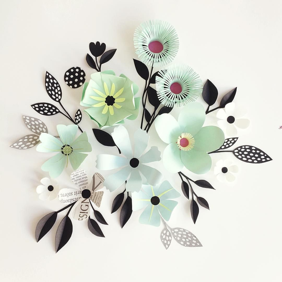 Paper sculpture flowers by hanna nyman easy arts and crafts ideas paper sculpture flowers by hanna nyman mightylinksfo
