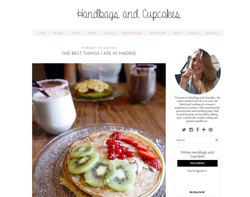 How to have a successful blog, Handbags and Cupcakes