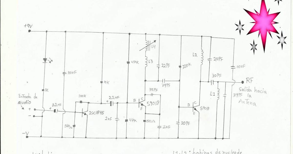 ponyelectronica   peque u00f1o transmisor de radio fm de 87 5  u2013 108 mhz estables de 700 mw para un