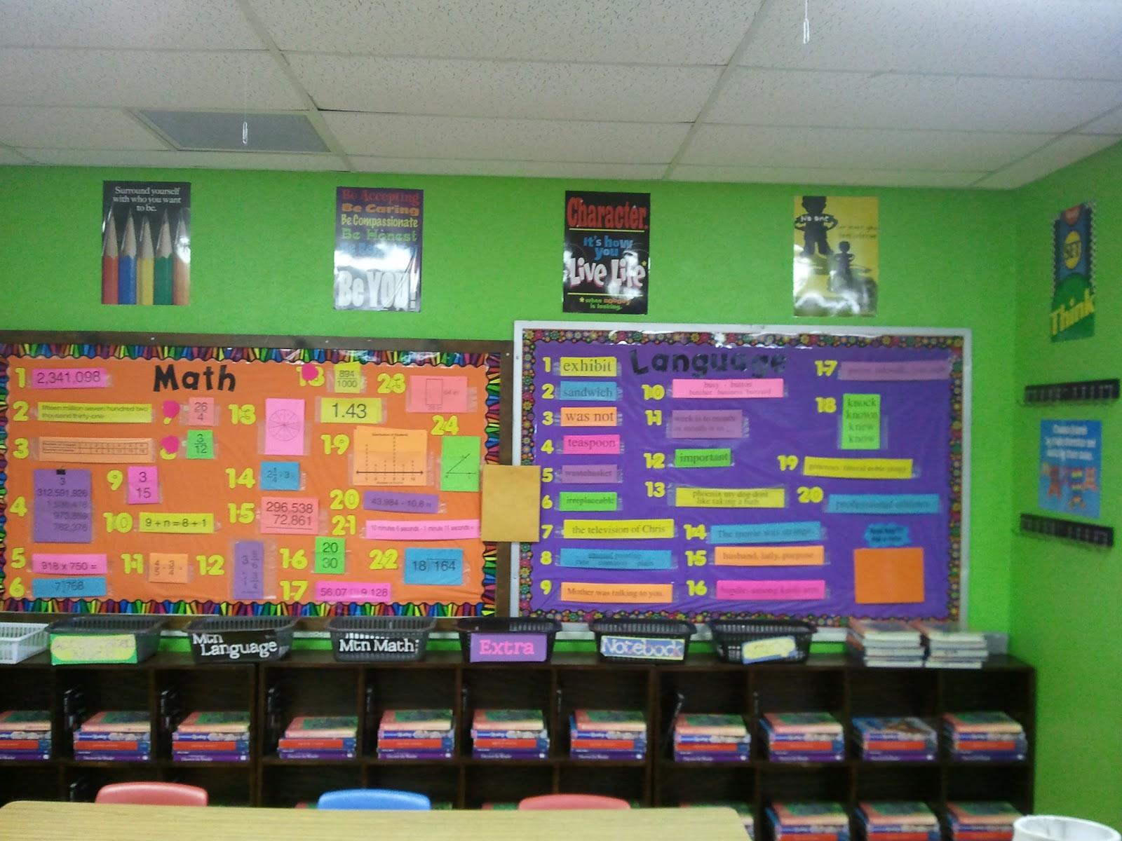 5th Grade Classroom Design