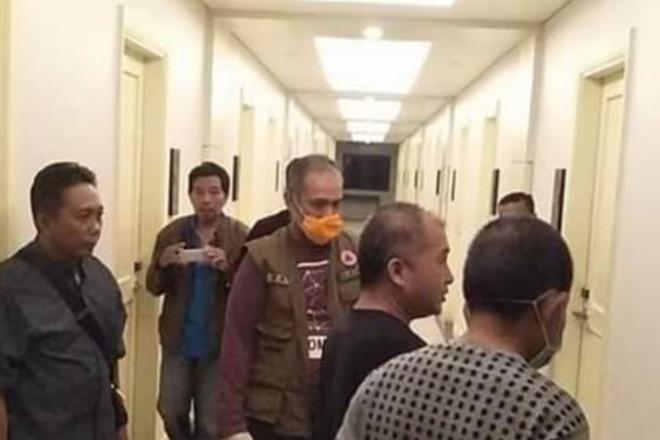 Antisipasi Corona, Dua Warga China Diperiksa Di Hotel Helios