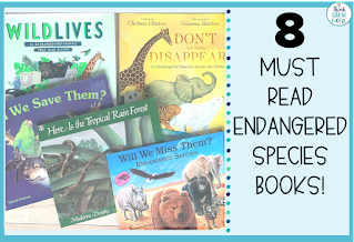 endangered species picture books