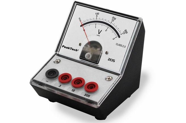 alat ukur tegangan listrik voltmeter