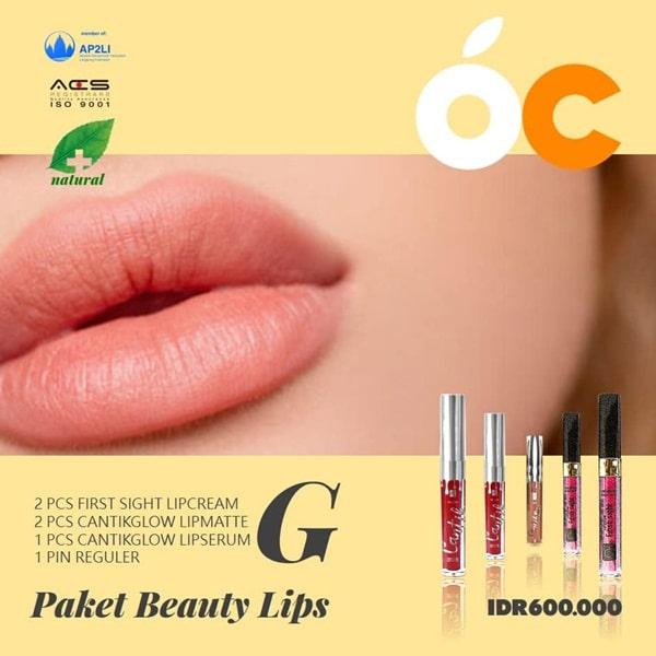 Paket Beauty Lips Ourcitrus