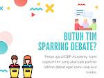 Jasa Tim Sparring Pelatihan Debat Bahasa Inggris Jakarta