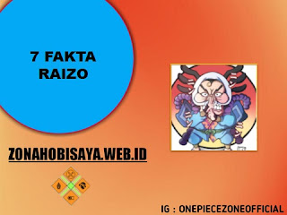 Fakta Raizo One Piece