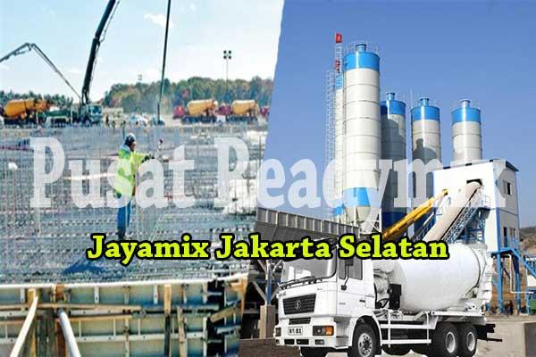 HARGA JAYAMIX JAKARTA SELATAN PER M3 2019