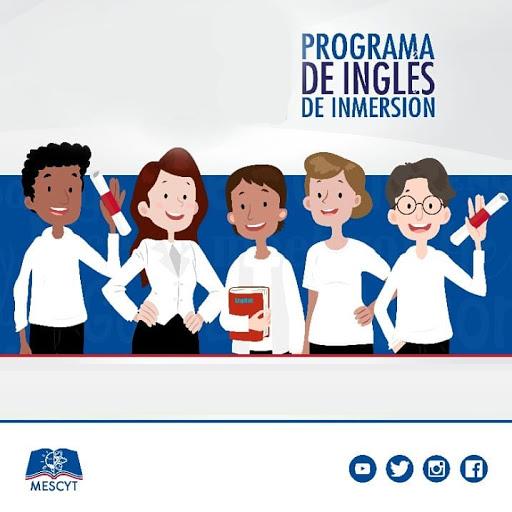 Aviso sobre el Programa de Inglés por Inmersión 2021 - MESCyT RD
