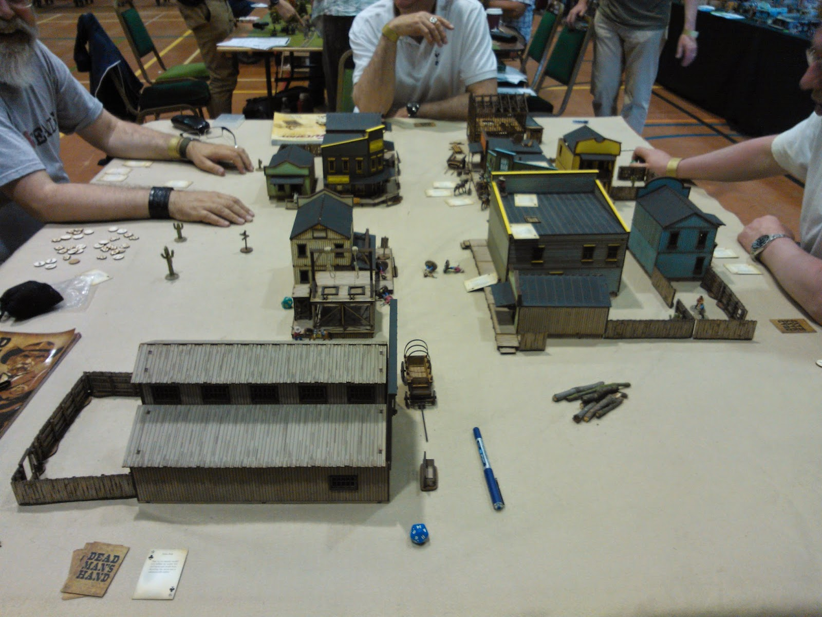 Broadside 2014 Dead Man's hand board scenery