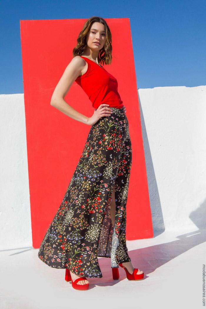polleras de moda primavera verano 2020