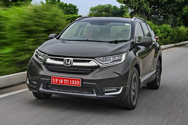 All New 2018 Honda CR-V Test Drive