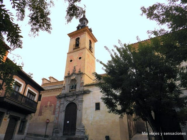 Iglesia de San Justo y Pastor, ruta islámica, Toledo