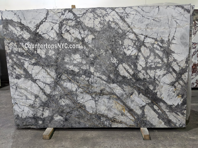 Cote D'Azur Polished Marble Slab NYC